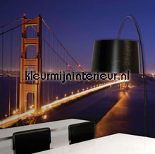 Golden Gate bridge fotobehang 70003 Digiwalls Dutch Wallcoverings