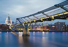 Millennium Bridge fotobehang Komar Scenics 8-924