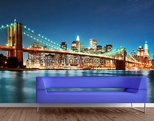 Manhattan Brooklyn Bridge fotobehang 115 aanbieding fotobehang