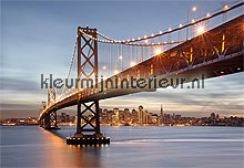 bay bridge fotobehang Komar City 8-733