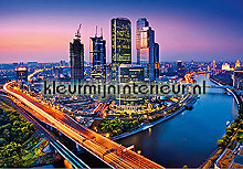 Moscow twilight photomural Ideal Decor Ideal-Decor Poster 125