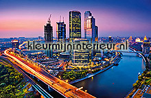 Moscow Twilight photomural Ideal Decor Ideal-Decor Poster 643