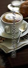 Café fotobehang 2-1015 keuken dessins Komar