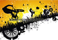 BMX riders papier murales AS Creation XXL Wallpaper 0350-0