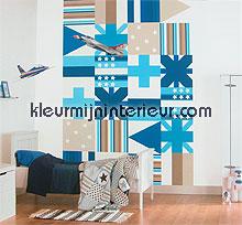 flags fotobehang 380034 Wallpower mini Eijffinger