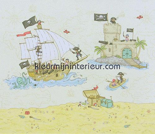 pirate coast fotobehang 380008 Wallpower mini Eijffinger