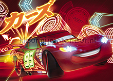 Cars Neon fotobehang Komar Disney-kids 4-477