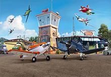 Planes Terminal fotobehang Komar Disney-kids 8-469