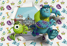 Monsters University fotobehang Komar Disney-kids 8-471