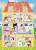 Its a girls world fotobehang Ideal Decor behang