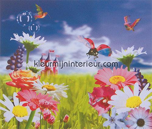 flowerfield papier murales 380041 Wallpower mini Eijffinger
