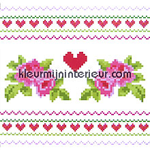 pixel hearts fototapeten Eijffinger Wallpower mini 380036