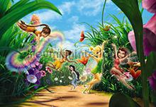 Fairies Meadow fotobehang Komar Disney-kids 8-466