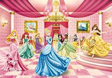 Princess Ballroom fotobehang Komar Disney-kids 8-476