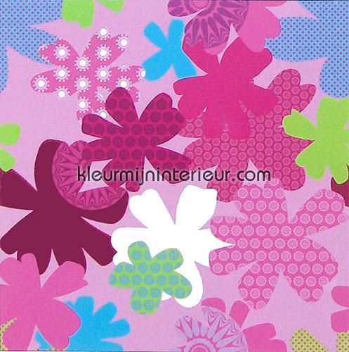 camouflage flowers papier murales 380040 Wallpower mini Eijffinger