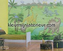 dinojungle papier murales 380006 Wallpower mini Eijffinger