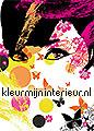 Floral girl papier murales Ideal Decor offre