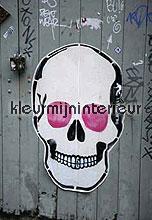 skull fotomurales Dutch Wallcoverings One 1002