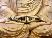 Buddah fotobehang AS Creation Oosters Trompe loeil
