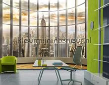 Office View fotobehang Mantiburi behang