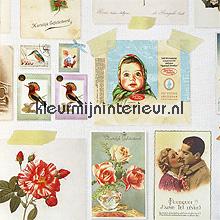 pip brocante behang Eijffinger PiP Wallpaper 386114