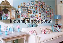 pip memories blue behang Eijffinger PiP Wallpaper 386102