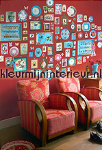 pip memories red behang Eijffinger PiP Wallpaper 386100