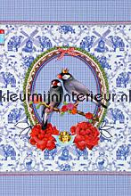 pip royal couple fotobehang Eijffinger PiP Wallpaper 386104
