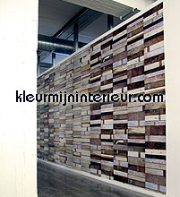 Sloophout grijs-bruin behang Studio Ditte hout