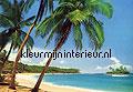 Ile tropicale photomural Ideal Decor sale photomurals