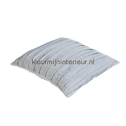 Malmo - grijs kussen geplisseerd gordijnen 7003GFM03 kussens kant en klaar