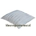 Malmo - grijs kussen geplisseerd  pillows