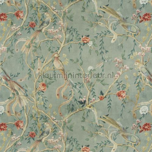 Avventura curtains ca1491-080 Butterflies - Birds JAB