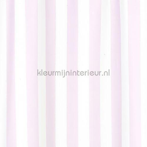 Big Stripe pink gordijnen 829647 Baby - Peuter Rasch