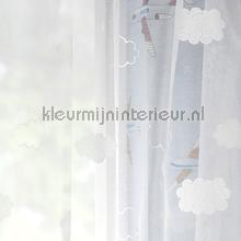 Clouds voile curtains Rasch Baby Toddler