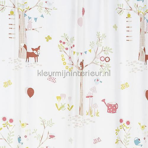 Forest curtains 829463 animals Rasch