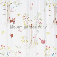 Forest curtains Rasch animals