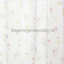 Forest Flower cortinas Rasch quadrado