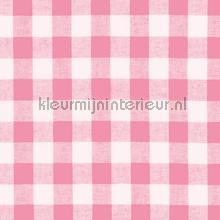 Boerenbont ruit 10mm roze gordijnen Kleurmijninterieur ruiten