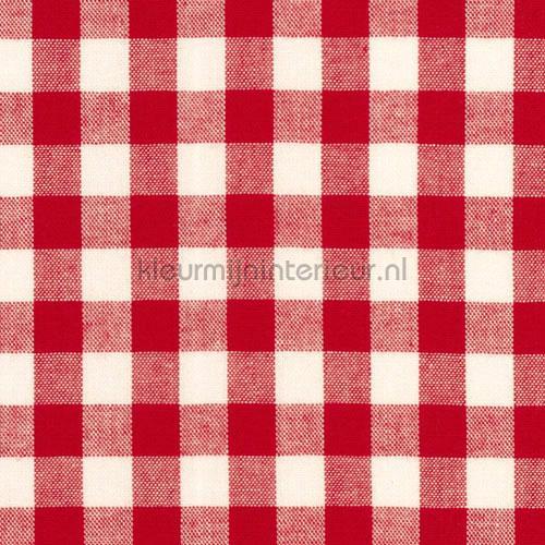Boerenbont ruit 10mm rood 5635-15 gordijnen Boerenbont ruit ...