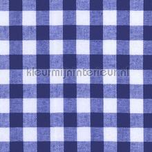 Boerenbont ruit 10mm blauw gordijnen Kleurmijninterieur landelijk