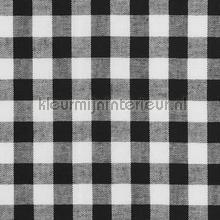 boerenbont ruit 10mm zwart gordijnen