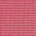 Boerenbont ruit 2mm rood kindergordijnen thema