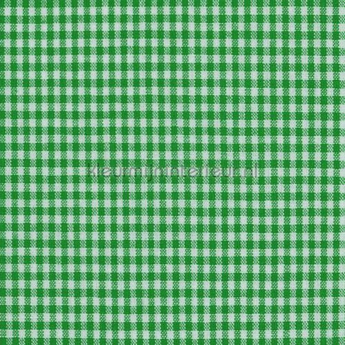 Boerenbont ruit 2mm bosgroen gordijnen 5581-25 Keuken Kleurmijninterieur