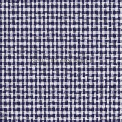 Boerenbont ruit 2mm navyblauw gordijnen Keuken Kleurmijninterieur