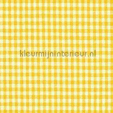 Boerenbont ruit 5mm geel gordijnen Kleurmijninterieur landelijk