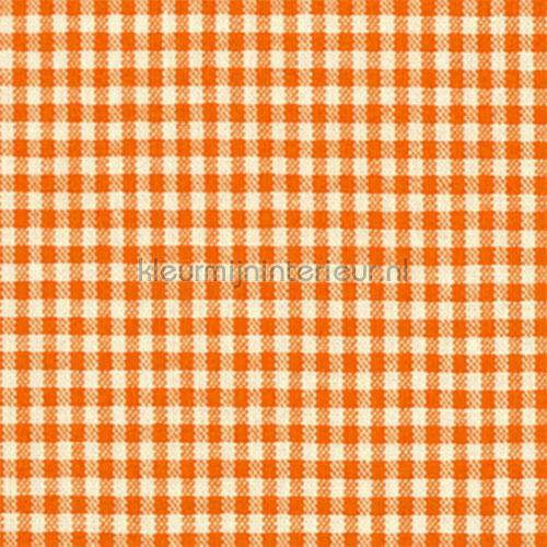 Boerenbont ruit 5mm oranje 5582-36 gordijnen Boerenbont ruit ...