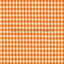 Boerenbont ruit 5mm oranje gordijnen Kleurmijninterieur landelijk