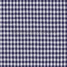 Boerenbont ruit 5mm donker blauw curtains Kleurmijninterieur boys