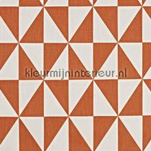 Zodiac Tangerine gordijnen Prestigious Textiles Cube 5731-405
